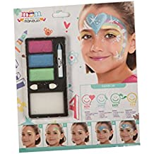 My Other Me - Kit maquillaje infantil perlado arco-iris (Viving Costumes 207098)