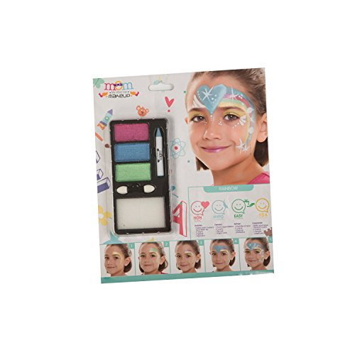 My Other Me Me-207098 Kit Maquillaje Infantil Perlado Arco-Iris Talla única Viving Costumes 207098