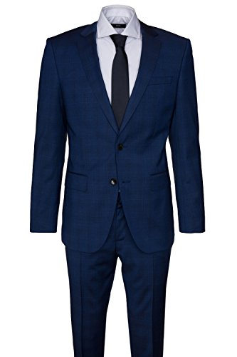BOSS Anzug Huge4/Genius3 50323128 Herren, Blau, 48