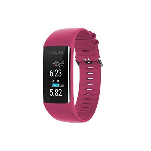 Polar A370 Reloj de fitness con GPS conectado y Frecuencia cardíaca en