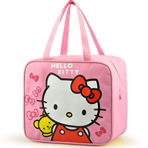 TASE Lunch Bag - Isolierung - Kühlung - Mahlzeit Tasche - Handtasche - Männer - Frauen - Kinder - Wasserdicht (Hello Kitty),ProductA (Kinder Tasche Für Kitty Hello)