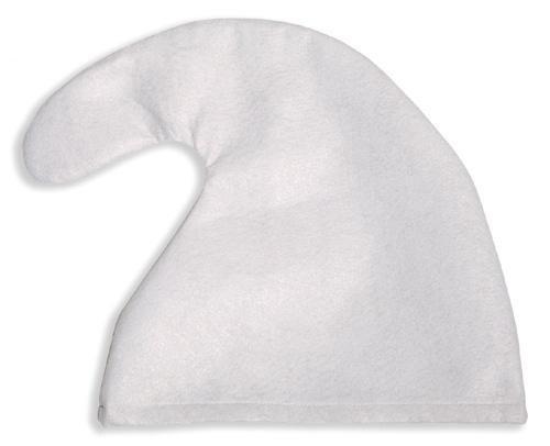 7 x Zwergenmütze Mütze weiß Zwerg Fasching Karneval fürs Kostüm (Schlümpfe Kostüme)