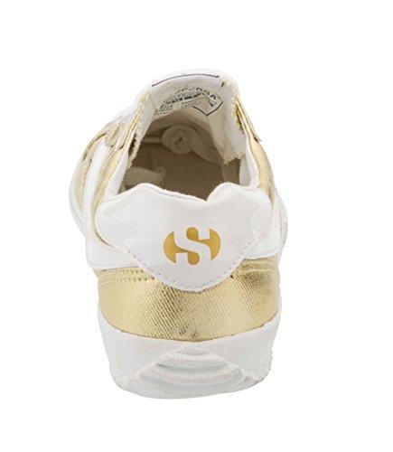 Superga 2832 Cotmetw, Baskets Basses Mixte Adulte Or - Gold (174)