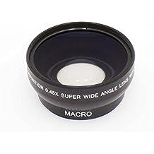 vhbw Weitwinkel Vorsatzlinse Objektivgewinde 52mm, Faktor 0,45x für Kamera Samsung NX Lens 50-200 mm 4-5.6 III ED OIS i-Function.