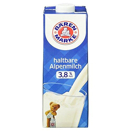 Bärenmarke Haltbare Alpenmilch 3,8% Fett, 1 l