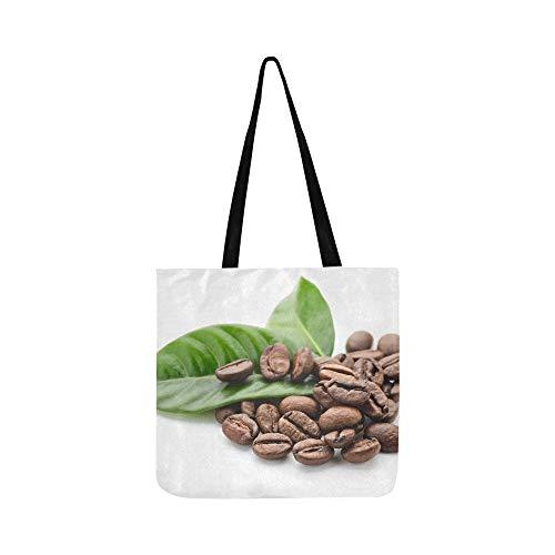 Köstliche Kaffeebohnen Leinwand Tote Handtasche Schultertasche Crossbody Taschen Geldbörsen Für Männer Und Frauen Einkaufstasche