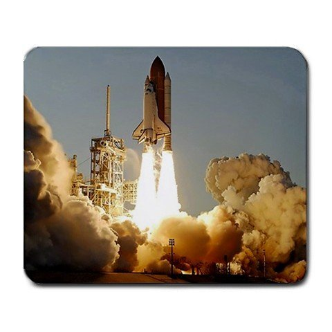 1 X Space Shuttle Atlantis Launch NASA Large Mousepad Mouse Pad Great Gift Idea 250mm*300mm (Space Mouse Pro Wireless)