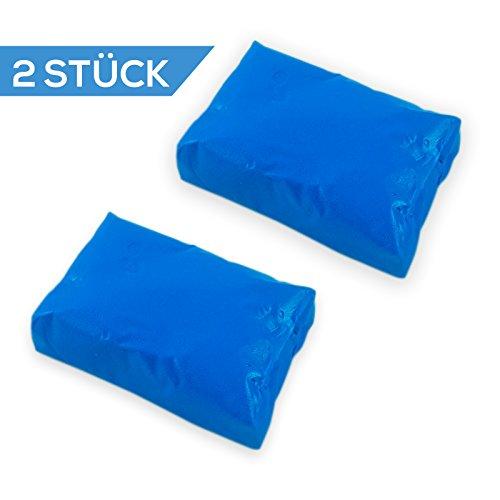 2x-Auto-Lack-Profi-Reinigungsknete-Flugrost-Teer-Hartz-Entferner-Lackreiniger-Insektenentferner-Motorrad-Reinigung-Lackreinigungsknete-200g-Reinigungsknete-zur-Lackpflege-Reinigungs-Knete-Blau