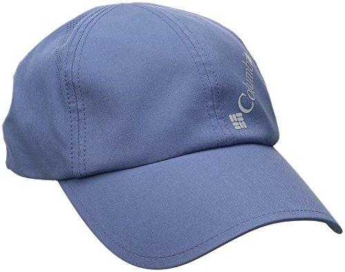 Columbia Womens Visor (Columbia Damen Silver Ridge Ball Cap Kappe, Größenverstellbar, Einheitsgröße, mittelblau (bluebell), CL9016)