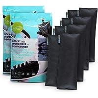 Nunca bambú Hockey Gear Desodorizador bolsa Set w/carbón de bambú Natural AX-AY-ABHI-21981, 1 Paquete , Negro, 1
