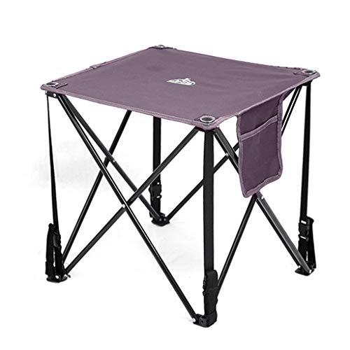 Table portative en Toile/Table de Loisirs/Table de Camping de Pique-Nique/Plage Oxford Petite Table/Table de Pliage extérieure