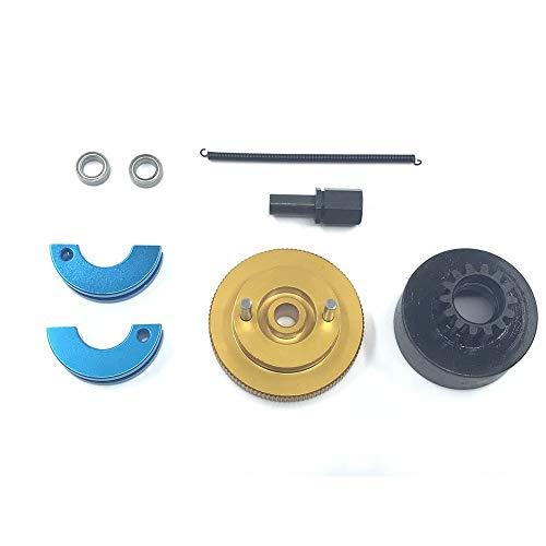 VIDOO 1 Set Clutch Bell 14T Gear Schwungrad Für Hsp 1/10 94122 02023 02048 94188 94166 Nitro Rc Autoteile-Gelb - Schwungrad-auto