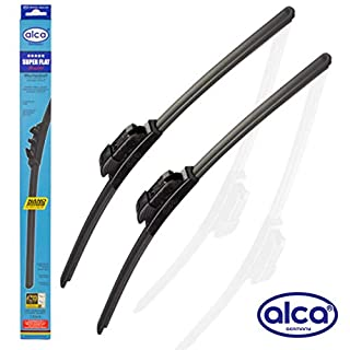 Alca Super Flach Premium Scheibenwischer Klingen 66cm 40,6cm [Multi] asf2616multi