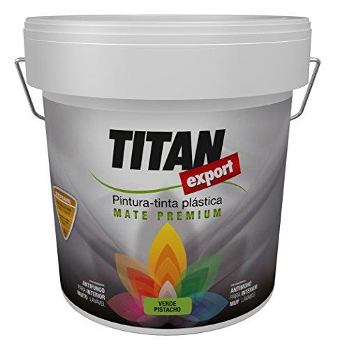 Industrias Titan 095110015 - Pintura plástica lavable (grande) color blanco