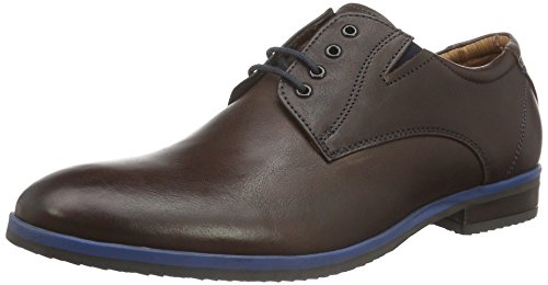 s.Oliver 13210, Scarpe Stringate Uomo, Marrone (Dark Brown 302), 42 EU