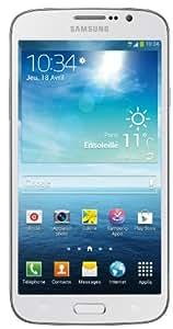 Samsung Galaxy Mega 6.3 Smartphone Bluetooth/Wi-Fi Android 4.2 Jelly bean 8Go Blanc