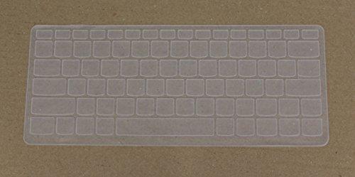 "Saco Keyboard Silicon Protector Cover for Lenovo Yoga 710-15 15.6"", Newest Lenovo Yoga 710-14 14"