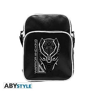 ABYstyle- Bolsa de Mensajero, Color Negro, S (Abysse Corp_ABYBAG295)