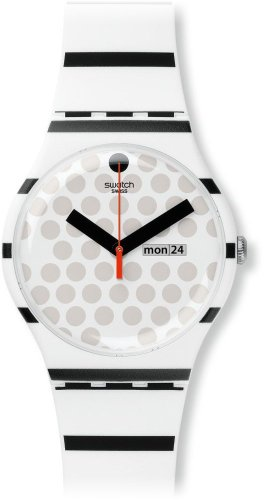 Swatch Reloj de cuarzo Unisex Zebratian 41 mm