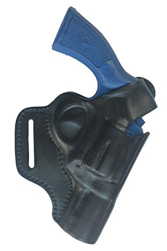 2,5 Zoll Leder Revolver Holster Frame K/L für Smith and Wesson 10 / 19 / 44 / 66 / 67 / 69 (S Holster W K-frame)