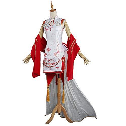 WWJIE Asunza Cosplay Kostüm weiblich, cheongsam, Kleid-L