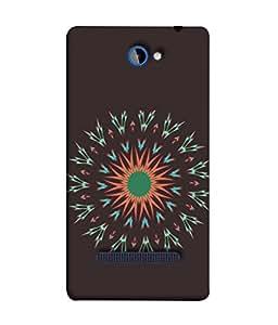 PrintVisa Designer Back Case Cover for HTC Windows Phone 8S :: HTC 8S (Abstract Illustration Decoration Card Celebration Vector Concept Portrait)