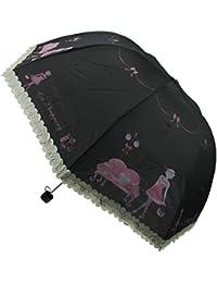 Fakeface Style coreano para mujer y niña, diseño de Piano Paraguas plegable Paraguas de golf protección UV Paraguas SUN lluvia