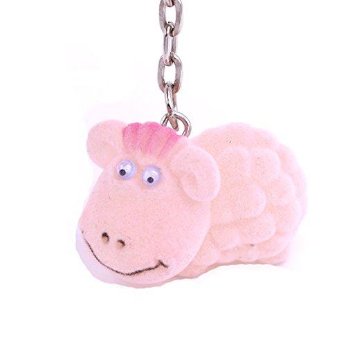 AnaZoz Schmuck Schlüsselanhänger Schutzengel Fahrzeugschlüssel Haustier 12 Stil Taschenanhänger Geschenk für Damen Herren Schaf