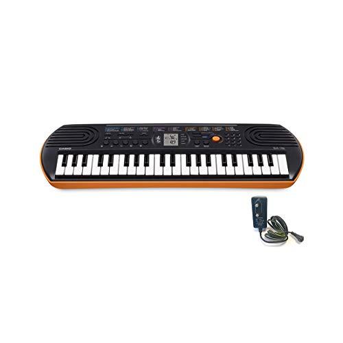 Casio SA-76H2 Keyboard, 44 Tasten