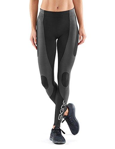 Skins Damen DNAmic Ultimate K-Proprium Long Tights, Black/Charcoal, M (Running Long Shorts Für Frauen)