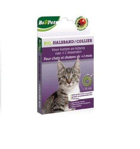 BSI Biopet Collier Ecologique sans Insecticide pour Chat 35 cm
