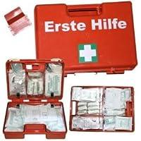 Verbandskoffer/Erste Hilfe Koffer mit Füllung nach DIN 13169 mit Wandhalterung preisvergleich bei billige-tabletten.eu
