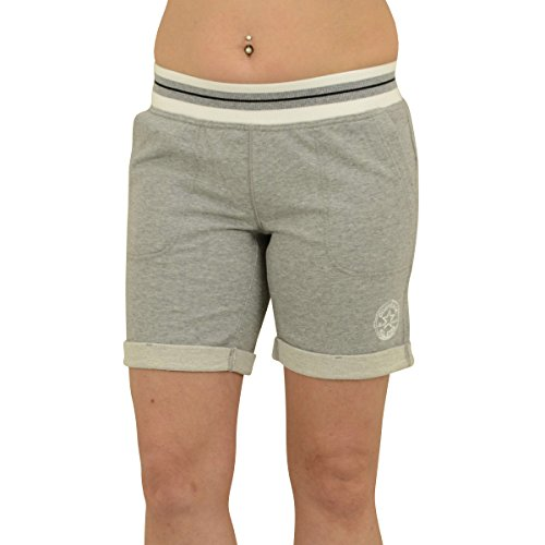 Converse Frauen Shorts Jogginghose Core Plus Short grau meliert - XS (Damen Star All Short)