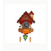 Reloj de cuco niños sala decoraciones hogar pequeño reloj de pared reloj despertador reloj moderno REGALO