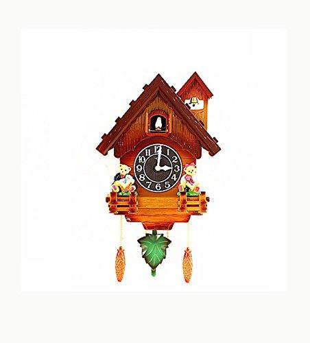 Kuckucksuhr Kinder Wohnzimmer Dekorationen Hause kleine Wanduhr Wecker Uhr modernen kurzen GESCHENK