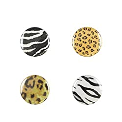 Il Bere Wine and Drink Charms Fun Collection, Cheetah Animal Print