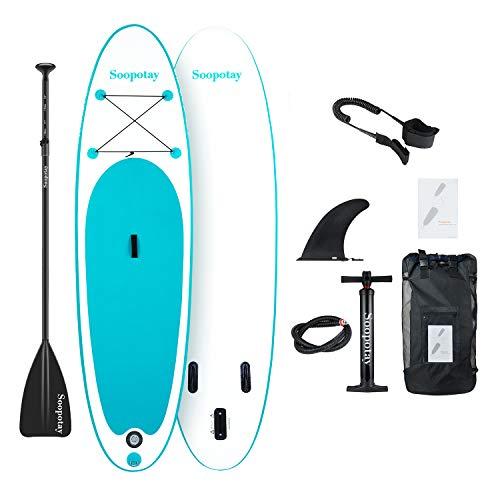 BATURU aufblasbares SUP Board, Stand-up Paddle Board, Sup Paddleboard 305 x 81 x 15 cm,iSUP Paket mit allem Zubehör - 3 Handy-kästen Anmerkung Für