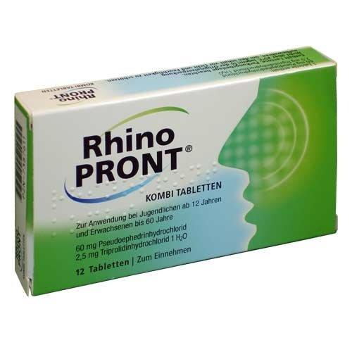 Rhinopront Kombi Tabletten, 12 St.