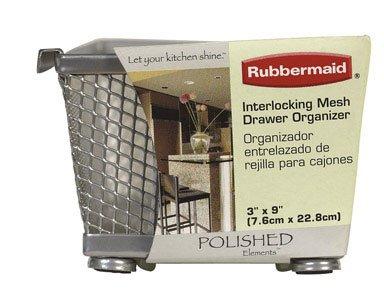 RUBBERMAID Schublade Organizer Titan 7,6cm W x 22,9cm L x 5,7cm H - Schublade Organizer Rubbermaid
