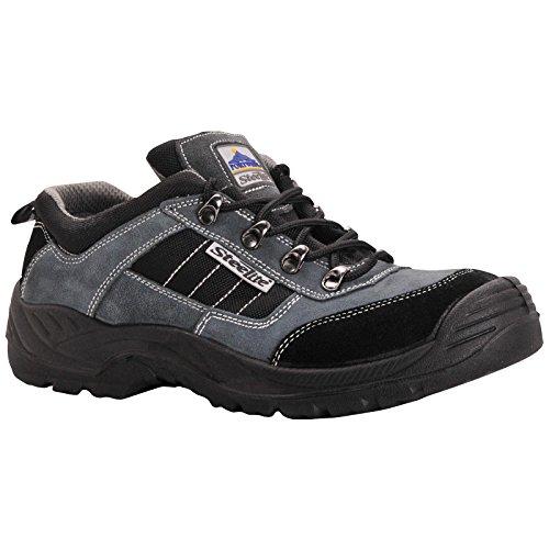 Portwest Steelite FW64BKR39Trekker Schuh, S1P, Regular, Größe: 39/7, schwarz