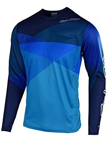 Troy Lee Designs Downhill-Jersey Sprint Blau Gr. L Troy Lee Designs Se Jersey