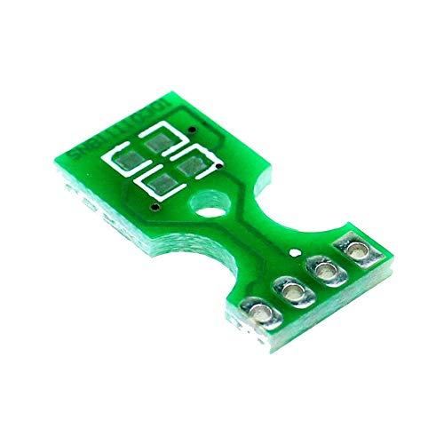 Mouchao 1 STÜCKE Temperatur Luftfeuchtigkeit Sensor PCB Board Platte Für Sht10 Sht11 Sht15 Bs5 B5 Grün -