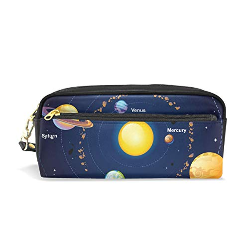 Outer Space Solar System Schulstifteetui Kinder Stiftehalter Große Kapazität Tasche Makeup...