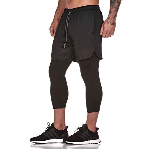 LBL - Pantalones Cortos Entrenamiento 2 1 Hombre Leggings