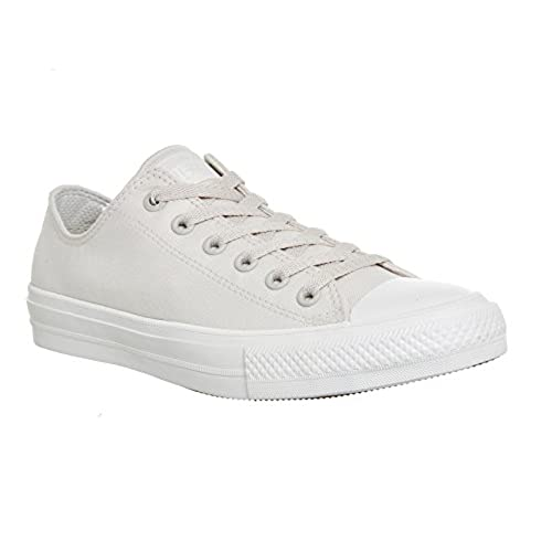 Converse Men's CTAS Ii Ox Sneakers, White (Parchment/Navy/White), 9 UK