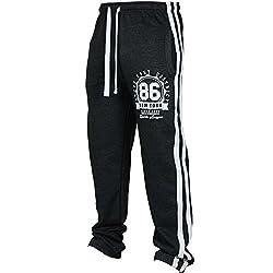 JMETRIC Herren Trainingshose Jogging-Hose Sport Hose  Modehose  Lässige atmungsaktive Hosen   Komfortable Hose Basic
