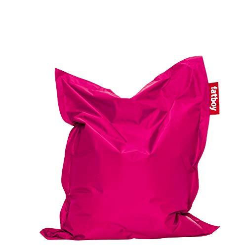Fatboy® Original Sitzsack Junior | Klassisches Indoor Sitzkissen speziell für Kinder in Pink | 130 x 100 cm