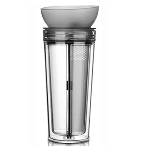 Finum chill out tasse de 0,3 l (anthracite/transparent