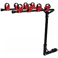 4 Bicycle Bike Rack Bicycle Hitch Mount Carrier Car Truck Auto Racks SUV New by FDW - Bike Hitch Rack