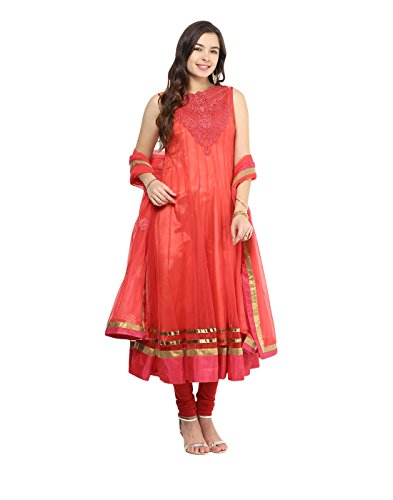 Yepme Mealany Salwar Suit - Pink -- YPMPSKD0063_S